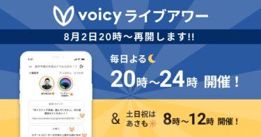 Voicy放送1周年